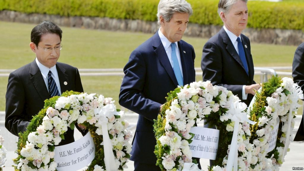Kerry, Obama and Hiroshima