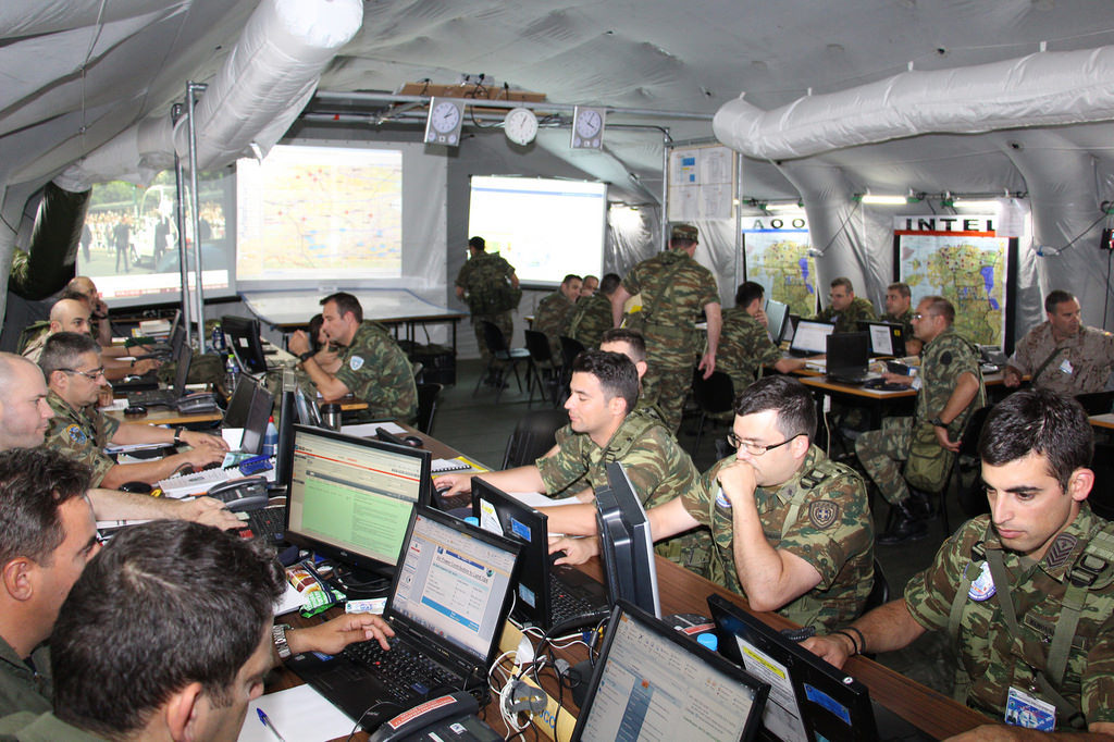 NATO Rapidly Deployable Command Center