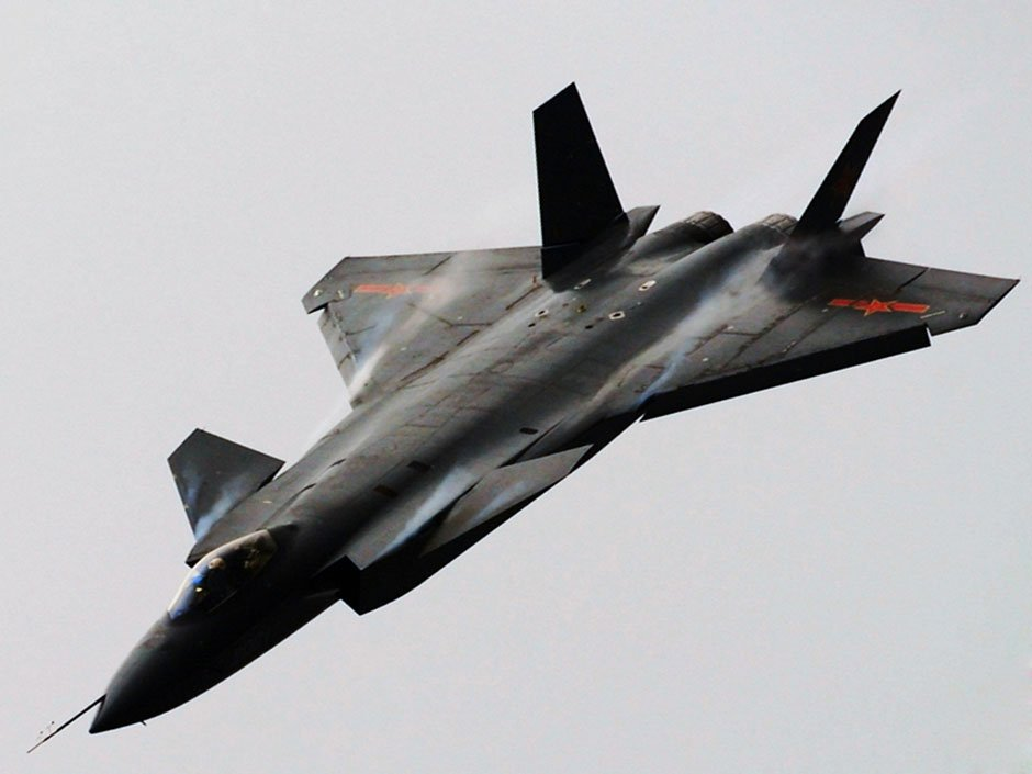 China J-20 Copy of F-22