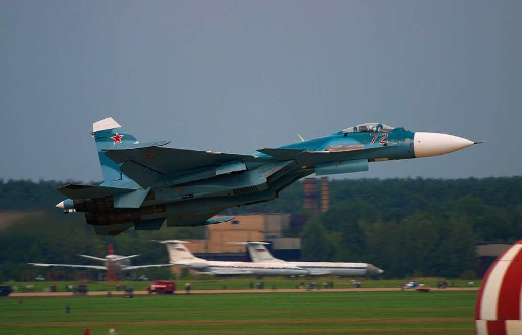 By Yevgeny Pashnin - http://www.airliners.net/photo/Russia---Navy/Sukhoi-Su-33-(Su-27K)/0428039/L/, GFDL, https://commons.wikimedia.org/w/index.php?curid=5494070
