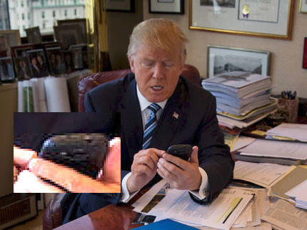 Image result for president Trump on phone